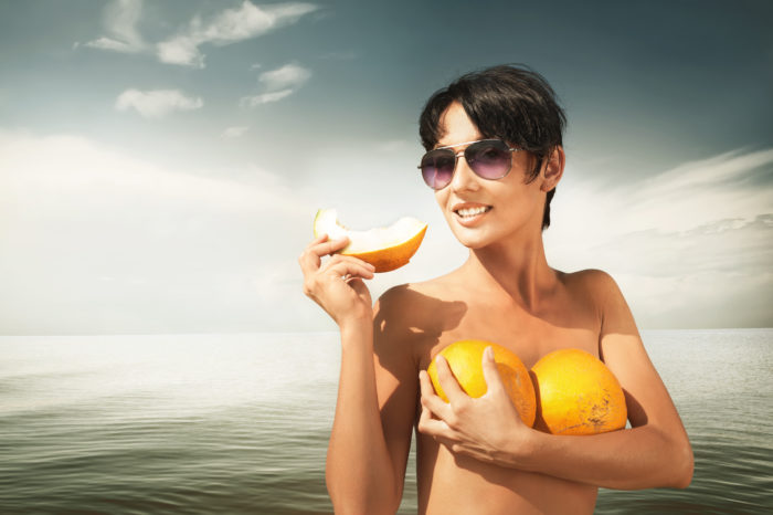 Think about several factors when choosing a breast implant size.